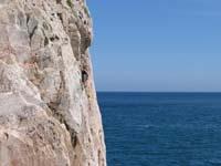 Klettern am Meer