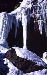 Eisklettern in Kandersteg