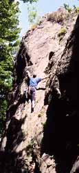 Klettern am Meisenstein