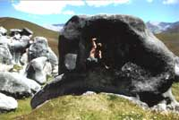 Bouldern auf Castle Hill