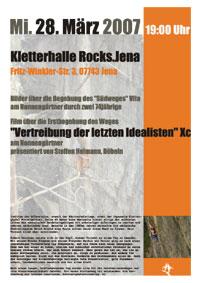 Poster Rocks Jena
