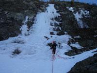 Klettern in der Dombas-Area