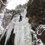 Mixed-Gartl bei Ochsengarten (1 Seillänge, WI 5-) - Je nach Eisbedingungen auch schwerer