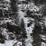 Sir Max im Ochsengarten (3 Seillängen, WI5-) - Sehr schöner Anstieg mit anhaltend schwierigen Steilstufen