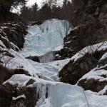 Soul Reaver bei Ochsengarten (3 Seillängen, WI 5-) - Sehr schöner Eisfall mit zwei steilen Aufschwüngen