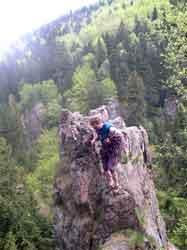 Klettern im Lauchagrund